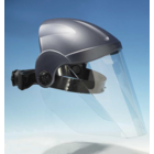 EHNA Gesichtsschutz, der das gesamte Sichtfeld vor Staub und Spritzern schützt, made in Germany - Bestellung ab 5 Stück