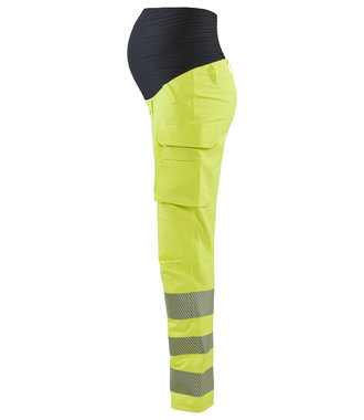 High Vis Maternity pants with 4-way stretch