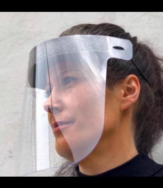 MAX Safety Shield -  gelaatsscherm - gemaakt in Portugal