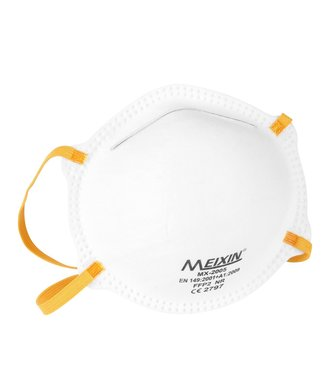 MX-2005 FFP2 face mask without exhalation valve so perfect in the protection against the Coronavirus