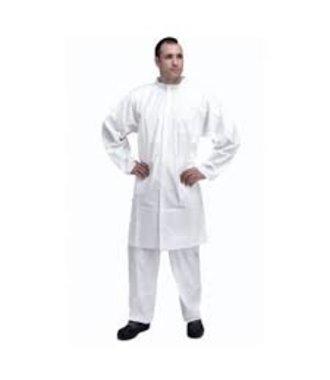 Tyvek 500 lab coat PL309 with zip