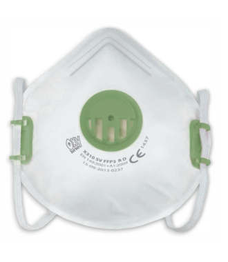 Mondmasker FFP3 met  Ventiel X310 SV - per 50 stuks