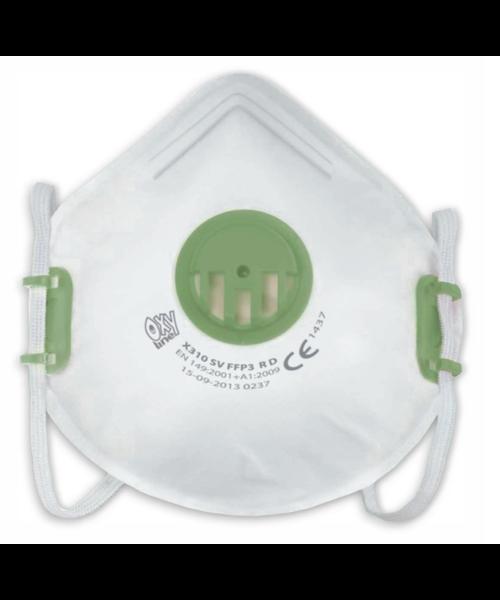 Oxyline Staubmaske FFP3 mit Ventil X310 SV - pro 2160 Stück