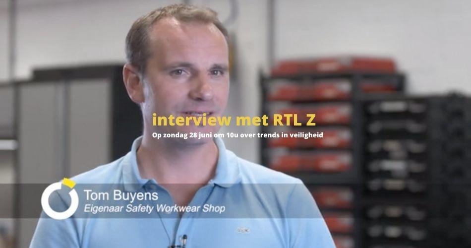Interview met RTL Z over trends in veiligheid bij TechNiche en Maxxis Dakar Team