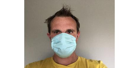 Le MAX Mask confortable est un masque buccal antibactérien à 99,9% même après 50 lavages, selon Intertek