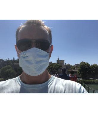 MAX Mask - antibakterielle Mundmaske, die 50 Mal gewaschen werden kann