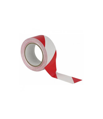 DuctTape Red / White 50mmx50m