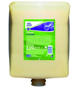 Solopol GrittyFOAM - 3.25L foaming hand cleaner