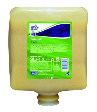 Solopol Classic - Pâte nettoyante pour les mains robuste 2L
