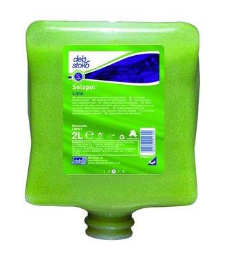 Solopol Lime - Nettoyage manuel 2L pour salissures moyennes aux extraits de chaux