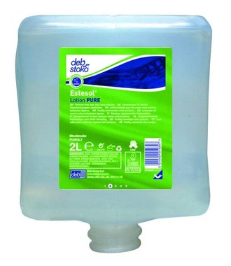 Estesol Lotion PURE - 2L hand cleaning for light soiling