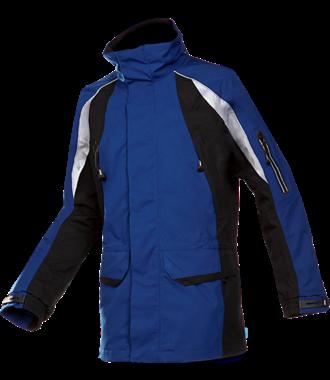 Tornhill Regenparka Marineblauw-zwart