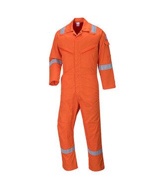 C814 - Iona Cotton Coverall - Orange - R