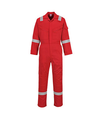 C814 - Iona Cotton Coverall - Red - R