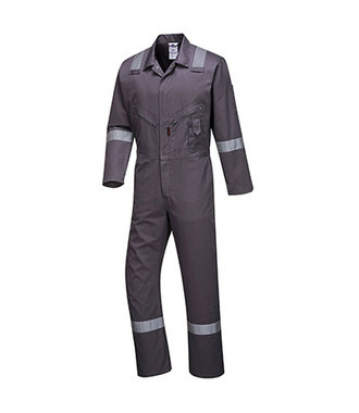 C814 - Iona Cotton Coverall - Grey - R