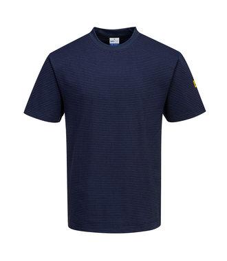 AS20 - Anti-Static ESD T-Shirt - Navy - R