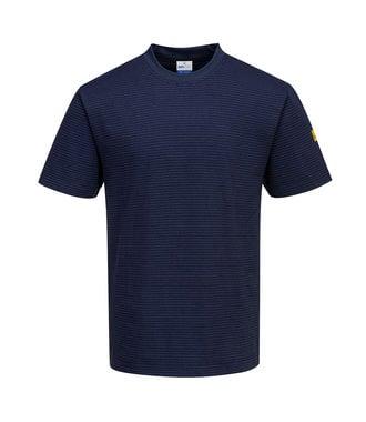 AS20 - T-Shirt antistatique ESD - Navy - R