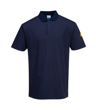 AS21 - Anti-Static ESD Polo Shirt - Navy - R