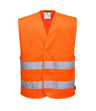 C374 - MeshAir Hi-Vis Two Band Vest - Orange - R