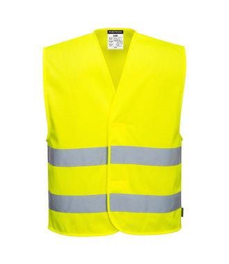 C374 - MeshAir Hi-Vis Two Band Vest - Yellow - R