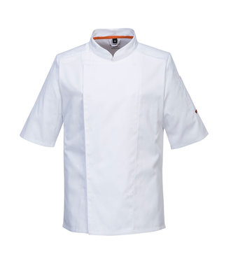 C738 - MeshAir Pro Jacket S/S - White - R