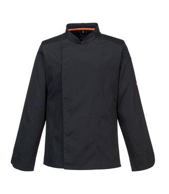 C838 - MeshAir Pro Jacket L/S - Black - R
