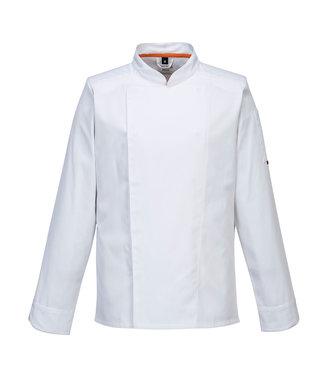 C838 - MeshAir Pro Jacket L/S - White - R