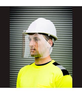 CV14 - 300 Micron APET Helmet Screen (100) - Clear - R