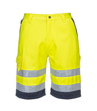 E043 - Hi-Vis Poly-cotton Shorts - YeNa - R