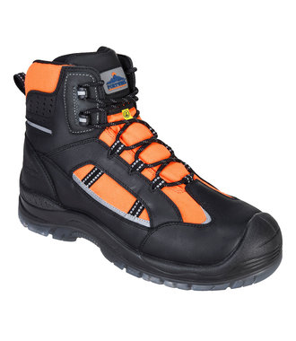 FC59 - Portwest Compositelite Retroglo Hi-Vis Boot S3 WR ESD - Orange - R