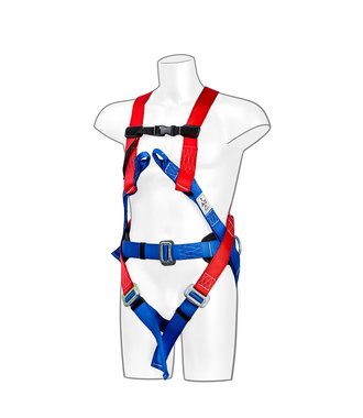 FP17 - Portwest 3 Point Comfort Harness - Red - R