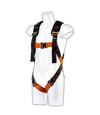 FP71 - Portwest Ultra 1 Point Harness - BkOr - R