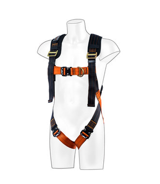 FP72 - Portwest Ultra 2 Point Harness - BkOr - R
