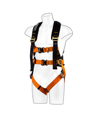FP73 - Portwest Ultra 3 Point Harness - BkOr - R
