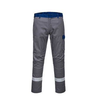 FR06 - Bizflame Ultra Two Tone Trouser - GreyShort - S