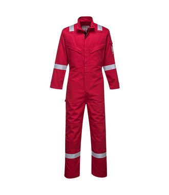 FR93 - Bizflame Ultra Coverall - Red - R