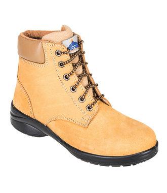 FT41 - Steelite Louisa Ladies Ankle Boot S3 - Wheat - E