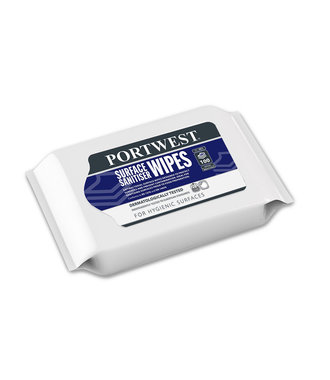 IW51 - Surface Wipes Wrap (100 Wipes) - White - R