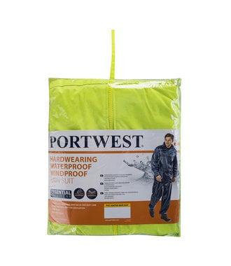 L440 - Essentials Rainsuit (2 Piece Suit) - Yellow - R