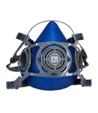 P410 - Auckland Half Mask - Blue - U