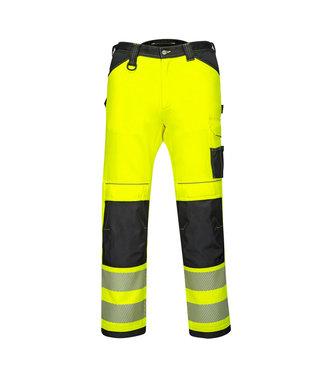 PW340 - PW3 Hi-Vis Work Trousers - YeBkS - S