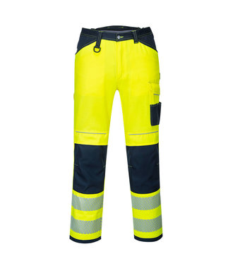 PW340 - PW3 Hi-Vis Work Trousers - YeNa S - S