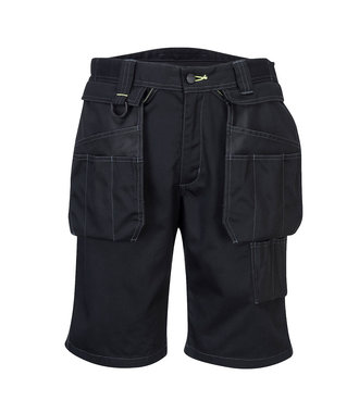 PW345 - PW3 Shorts mit Holstertaschen - Black - R