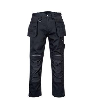 PW347 - PW3-Hose aus Baumwolle mit Holster - Black - R