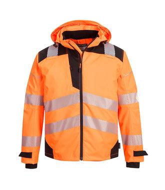 PW360 - PW3 Extreme Breathable Rain Jacket - OrBk - R