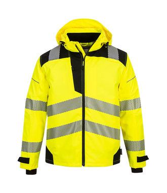 PW360 - PW3 Extreme Breathable Rain Jacket - YeBk - R