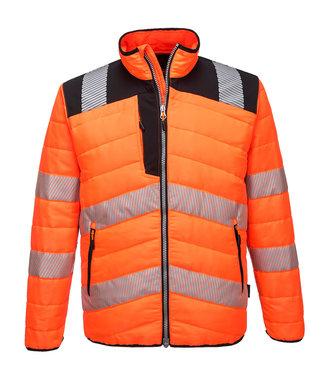 PW371 - PW3 Hi-Vis Baffle Jacket - OrBk - R