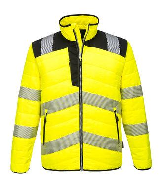 PW371 - PW3 Hi-Vis Baffle Jacket - YeBk - R