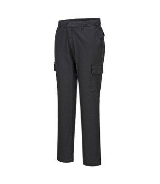 S231 - Stretch Slim Combat Trouser - BlackS - S