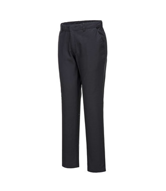 S232 - Stretch Slim Chino Trouser - BlackS - S